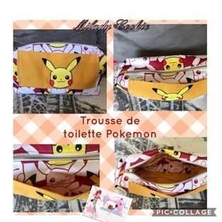 Makerist - Trousse de toilette Pokémon et 2 chevaux - 1