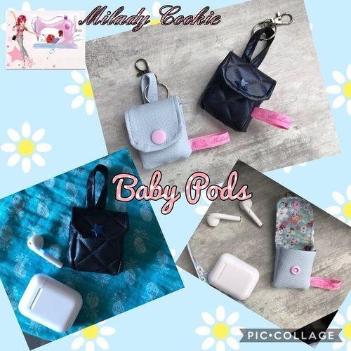 Makerist - «Baby Pods» l'étui pour AirPods ou écouteurs Bluetooth  - Créations de couture - 1