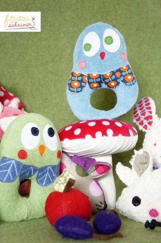 Makerist - Eule für Babys - Nähprojekte - 1
