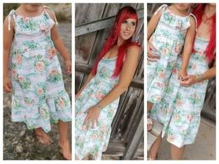Ladies Ruffle Dress