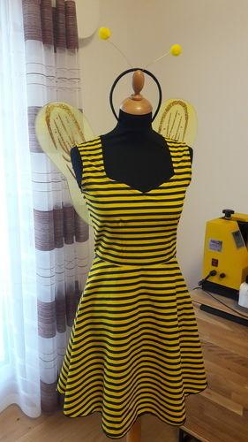 Makerist - Kleid Ella als Hochzeitsgast und Faschingsbiene  - Nähprojekte - 2