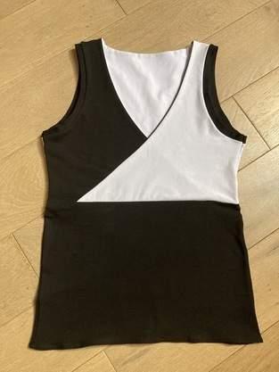 Makerist - Top taille S en jersey bi-color avec le patron de Madame Luise - 1