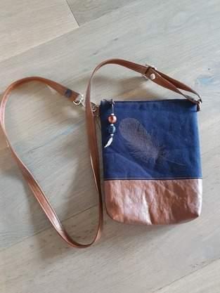Tasche zum Sommerkleid