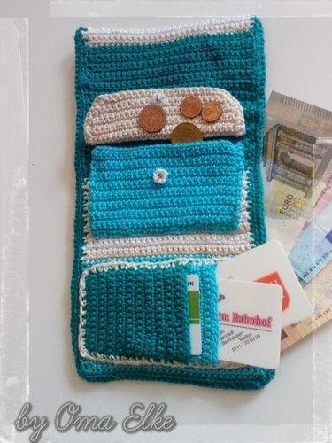Makerist - Portemonnaie - Häkelprojekte - 2