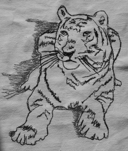 Makerist - Nähmalen - Tiger - Nähprojekte - 1