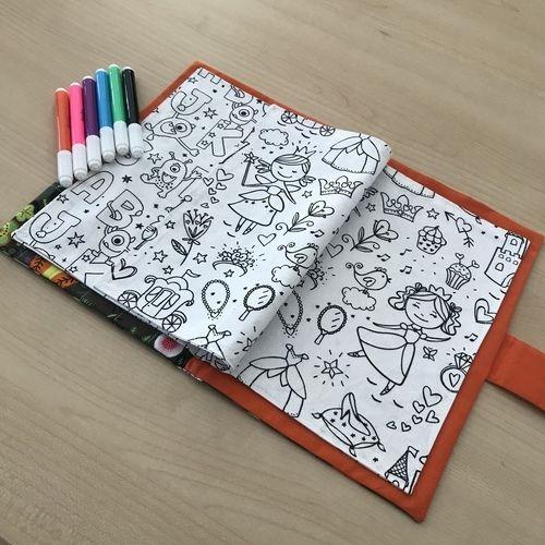 Makerist - Livre de coloriage lavable NUKU HIVA  - Créations de couture - 1