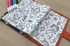 Makerist - Livre de coloriage lavable NUKU HIVA  - 1