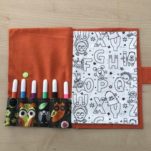 Makerist - Livre de coloriage lavable NUKU HIVA  - Créations de couture - 3