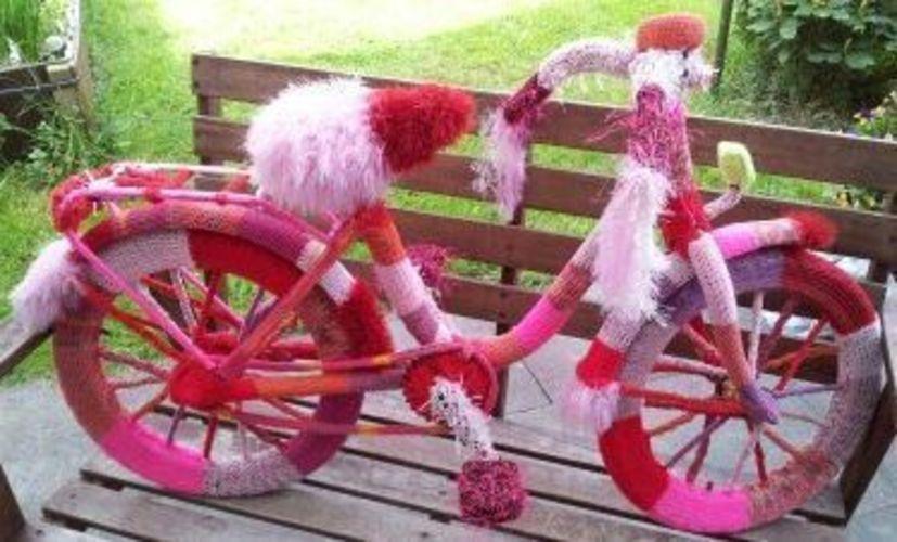 Makerist - Stricken: ein Fahrrad - Strickprojekte - 2
