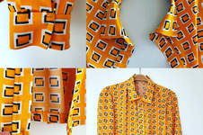 Makerist - Bluse in orange - 1