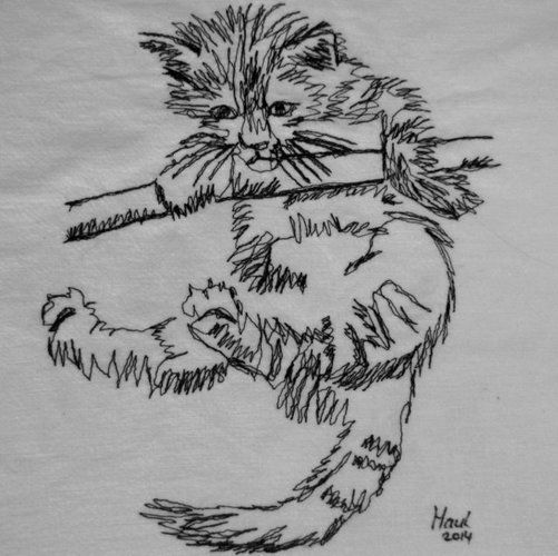 Makerist - Nähmalen - Kleines Kätzchen - Nähprojekte - 1
