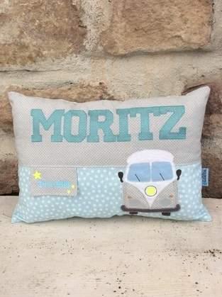 Makerist - GeburtsKissen für MORITZ - 1