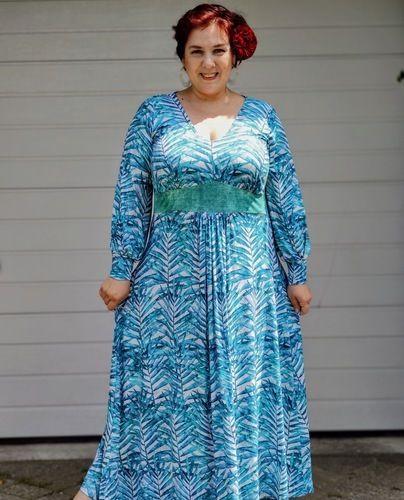 Makerist - Ibizakleid aus Viskosejersey - Nähprojekte - 1