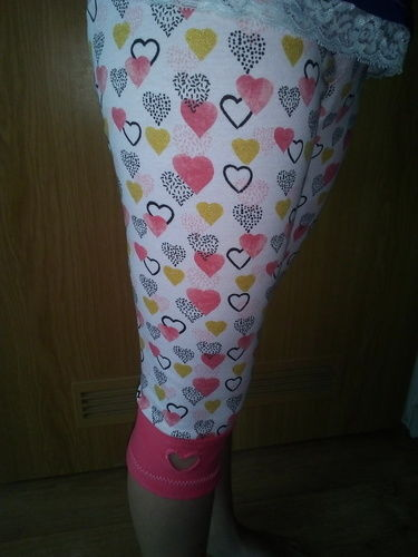 Makerist - Herzchen Leggings - Nähprojekte - 1