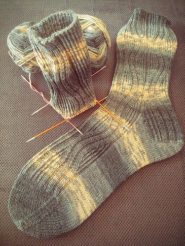 "Makerist - Socken ""Reginald"" - Strickprojekte - 2"