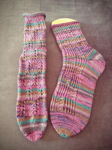 """Makerist - Socken """"Himmelwärts"""" - Strickprojekte - 2"""