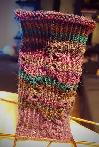 """Makerist - Socken """"Himmelwärts"""" - Strickprojekte - 3"""