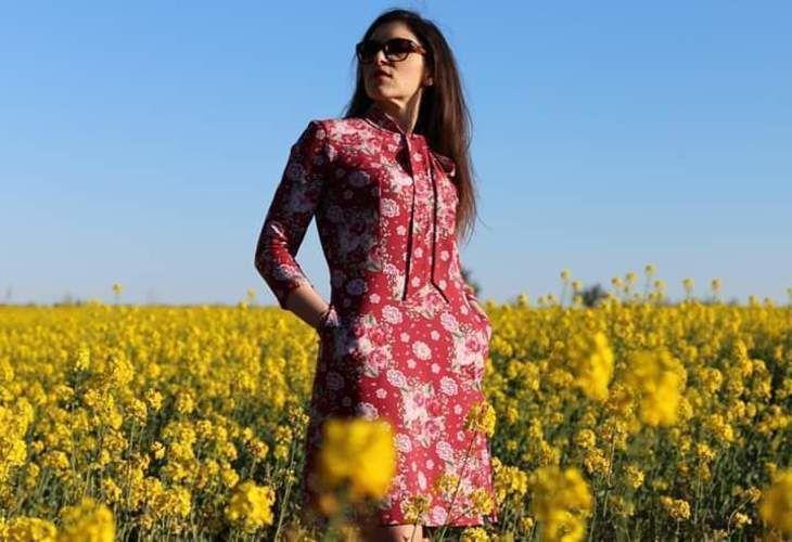 Makerist - Kleid Celina nach Purpurnaht - Nähprojekte - 1