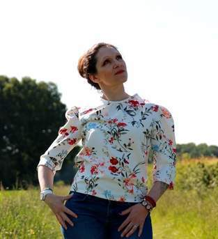 Makerist - Bluse Lisa nach Purpurnaht - 1
