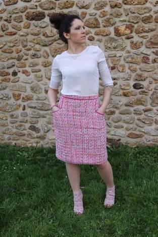 Rock Alexandra nach Stitch'n'study