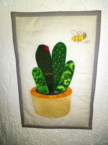 Makerist - Ein Kaktus für meine Chefin - Patchwork-Projekte - 1