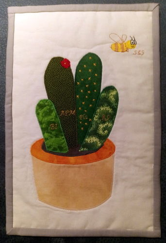 Makerist - Ein Kaktus für meine Chefin - Patchwork-Projekte - 3