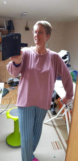 Makerist - Miss Schnuggelsweater mit Fertigbügelbild - 1