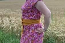 Makerist - Kleid Aubergine aus Sommersweat - 1