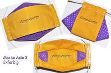 Makerist - Maske Asia 2 - 2-farbig - 1