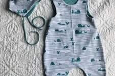 Makerist - Babyset mit Strampelhose Theo in lang - 1