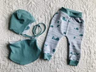 Makerist - Babyset mit Halssocke  - 1