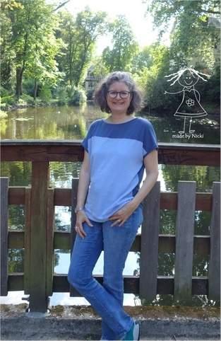 Makerist - Damenshirt Sara von Pattydoo - 1