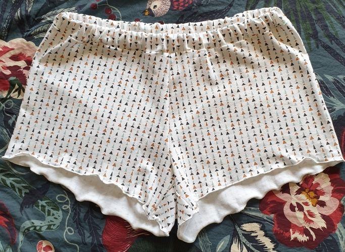 Makerist - Pyjashort pour ma fille, en jersey - Créations de couture - 1