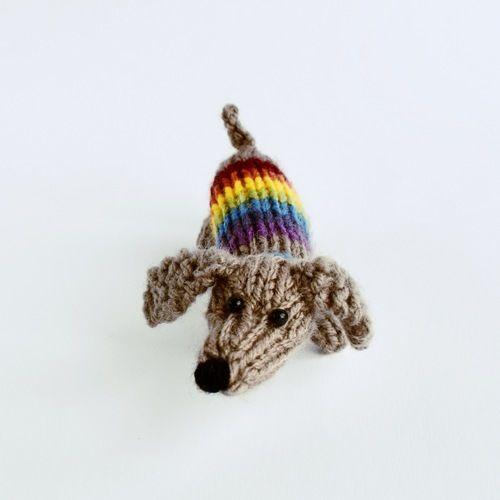 Makerist - Small Sausage Dog - Knitting Showcase - 3