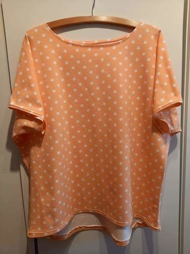 """Makerist - Sommershirt Nr. 2, aus Jersey, nach dem Schnitt """"Frau Edda"""", für mich selbst - Nähprojekte - 1"""