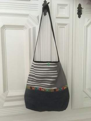 Makerist - Schultertasche Tasche Beutel Shopper - 1