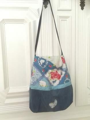Makerist - Schultertasche Tasche Beutel Shopper die zweite - 1