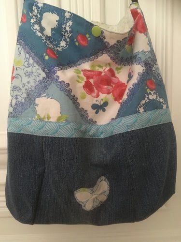 Makerist - Schultertasche Tasche Beutel Shopper die zweite - Nähprojekte - 2