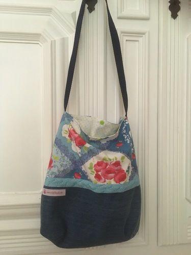 Makerist - Schultertasche Tasche Beutel Shopper die zweite - Nähprojekte - 3
