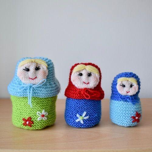Makerist - Matryoshka dolls - Knitting Showcase - 1