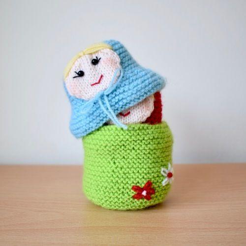 Makerist - Matryoshka dolls - Knitting Showcase - 2