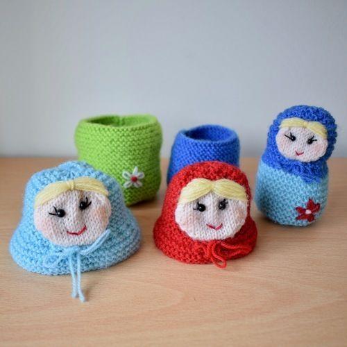 Makerist - Matryoshka dolls - Knitting Showcase - 3