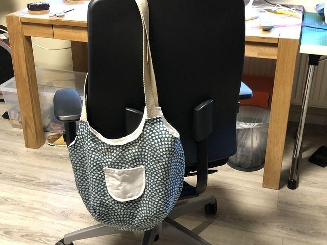 Makerist - Tasche aus Polsterstoff mit Gurten und Reißverschlussinnentasche - Nähprojekte - 1