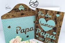 Makerist - Ruckzuck Vatertagskarte mit den tollen Papieren von Biberwerke - 1