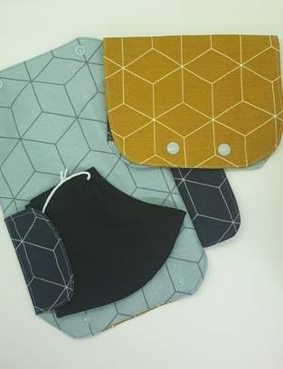 Makerist - Maske (in) Tasche aus Canvas - 1