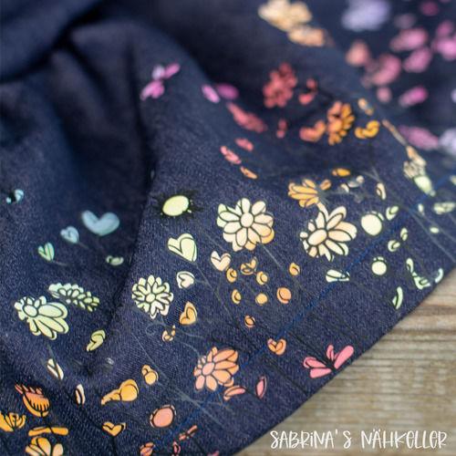 Makerist - Blumenwiese Doodle - Textilgestaltung - 1