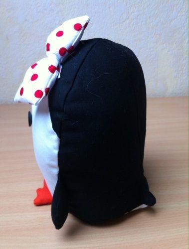Makerist - Rockabella Pinguin, Reisebegleitung für meine Tochter - Nähprojekte - 2