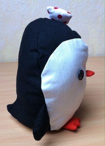 Makerist - Rockabella Pinguin, Reisebegleitung für meine Tochter - Nähprojekte - 3