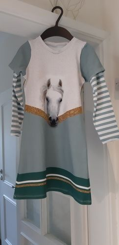 Makerist - Kleid nach Mamahoch2  kurz Ärmel und lange vom Hoodie - Nähprojekte - 2