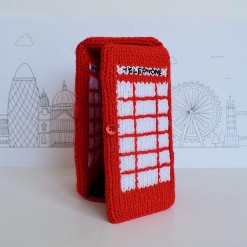 Makerist - Red Telephone Box - Knitting Showcase - 2